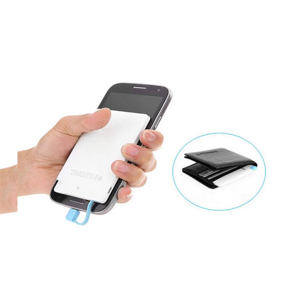 CH7850 Universal Mobile Phone Charger super slim credit card power bank
