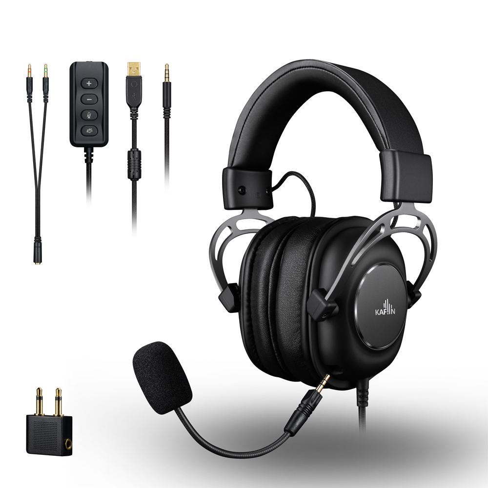 HP1300 3.5+7.1 channel gaming headset