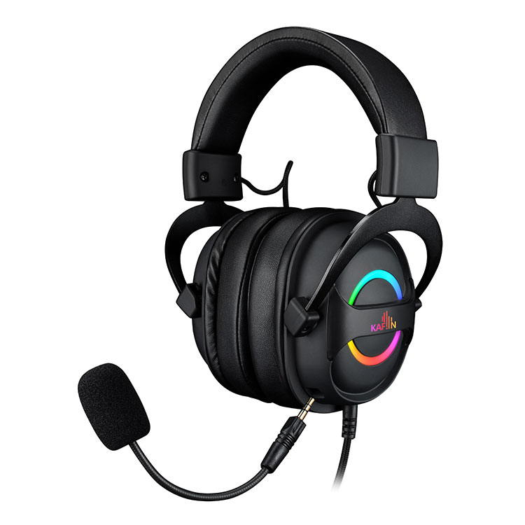 HP1305 7.1 channel gaming headset with RGB led light